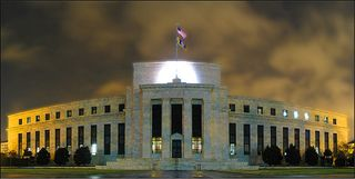 Fed Reserve at Night