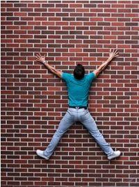 Man-on-wall