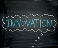 Innovation chalkboard