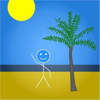 Stickman paid vacation