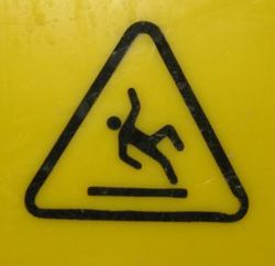 Slip-hazard-sign