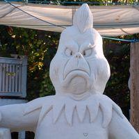 Grinch_sand_sculpture