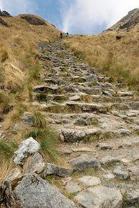 Uneven steps