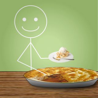 Stickman Who Ate All the Pie