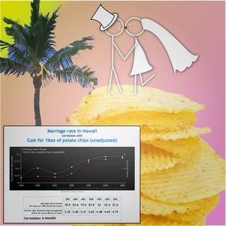 Stickman Hawaiian Marriage and Potato Chips