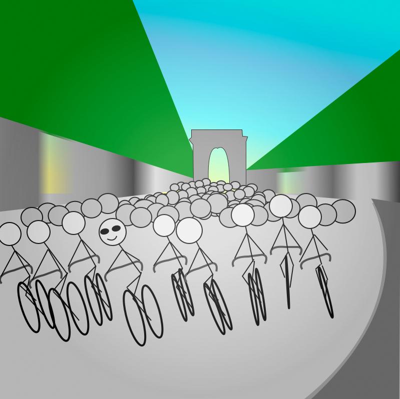 Stickman Tour de France P4P
