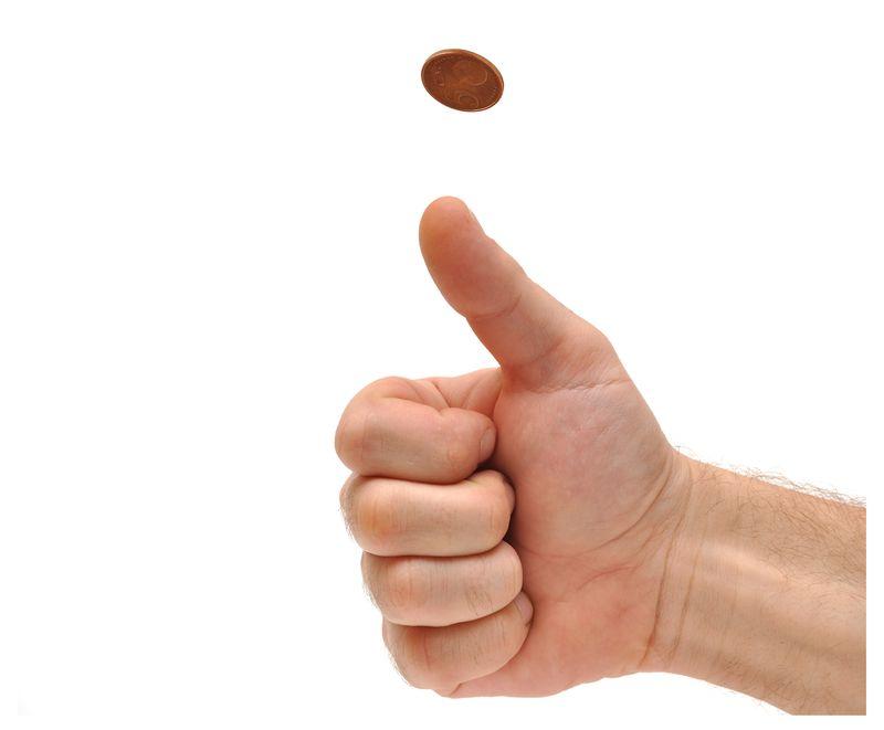 Coin tossb