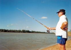 Dad Fishing, by Richard Gifford