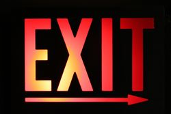 Exit, by Chris Griffith