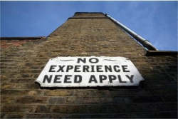 No Experience Building Sign