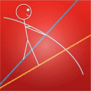 Stickman ratio tightrope