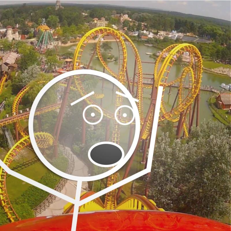 Stickman IPO Rollercoaster