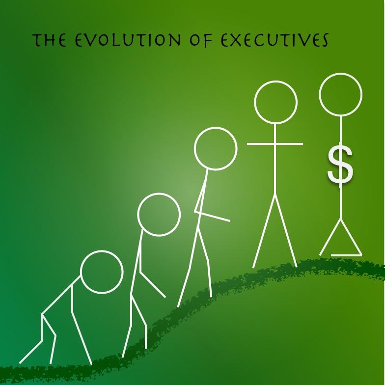 Stickman Evolution of Executives