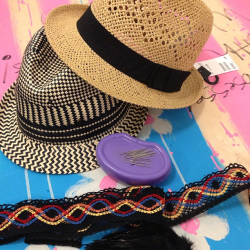 DIY Beach Hats  by Wicker Paradise