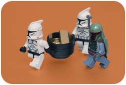 Storm Troopers carrying reward  by pasukaru76