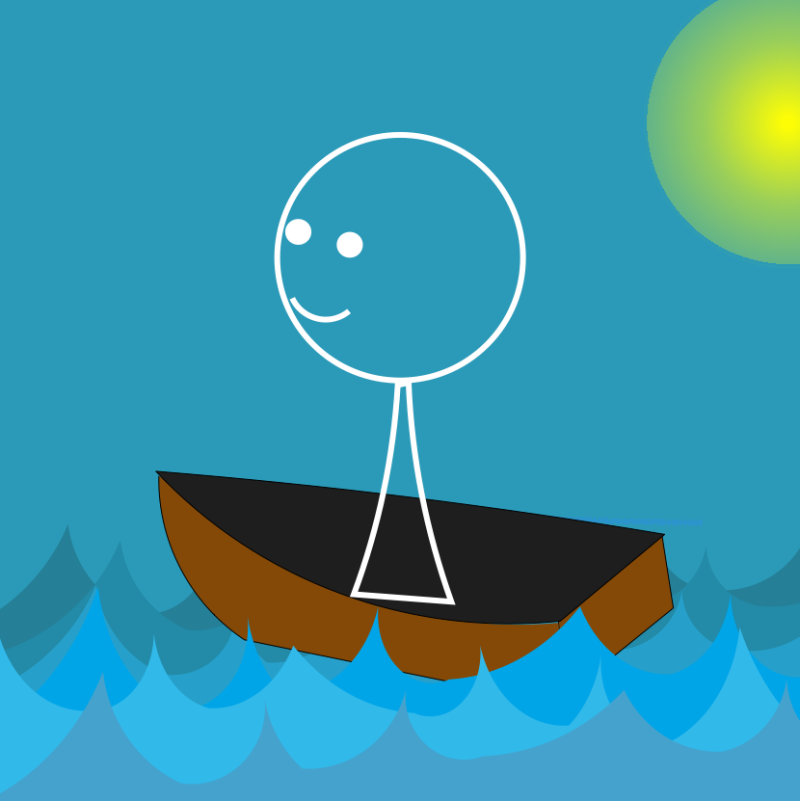 Stickman - Boat and Sail-20191219
