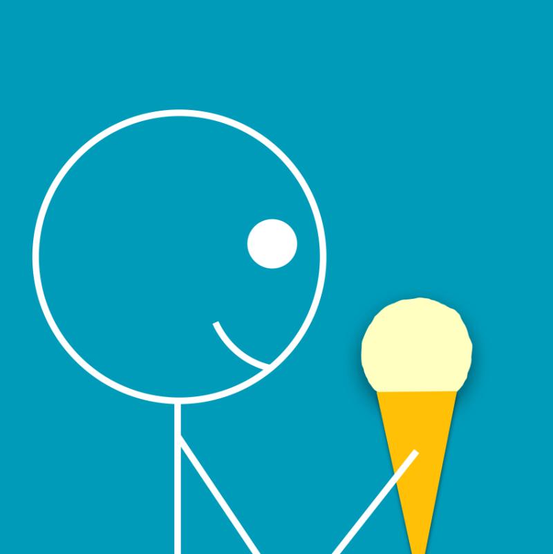 Stickman - not vanilla ice cream - 20200414