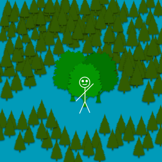 Stickman - forest and Treets-20200825